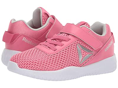 Reebok Kids Flexagon Energy Alt (Little Kid/Big Kid) (Pink/Silver/White) Girls Shoes