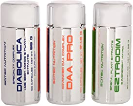 Scitec Nutrition Hormone Optimization Support – DAA Pro DIABOLICA EZTRODIM – 3 Pack Estimated Price : £ 49,72