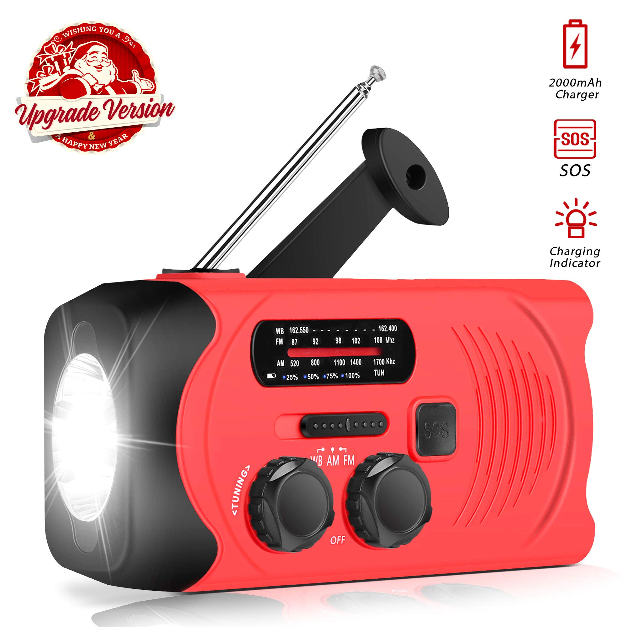 Upgraded Version RunningSnail Emergency Flashlight