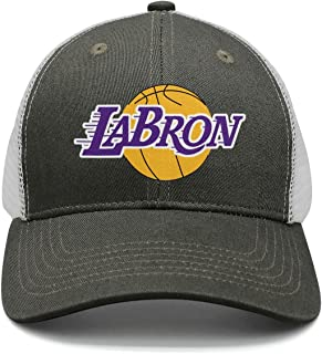 SJSNBZ La-bron-23_Funny_Logo Mens Adjustable Fashion mesh Snapback Hat