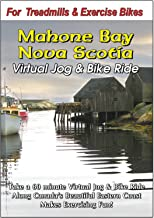 Mahone Bay Nova Scotia Virtual Jog & Bike Ride Scenery DVD