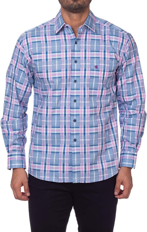 Manchester Men's Dress Shirt Sleeve Regular Department store Fit 5% OFF Long
