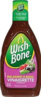 Wish-Bone Salad Dressing, Balsamic and Basil Vinaigrette, 15 Ounce