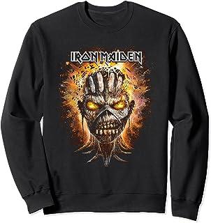Iron Maiden - Exploding Head Eddie Sweatshirt
