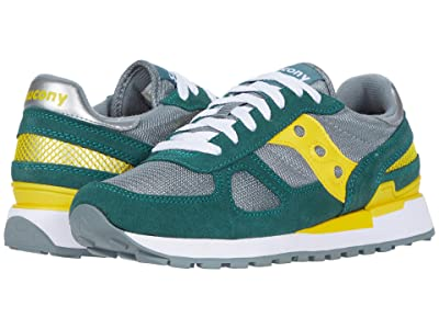 Saucony Originals Shadow Original (Mallard/Cyber Yellow) Men