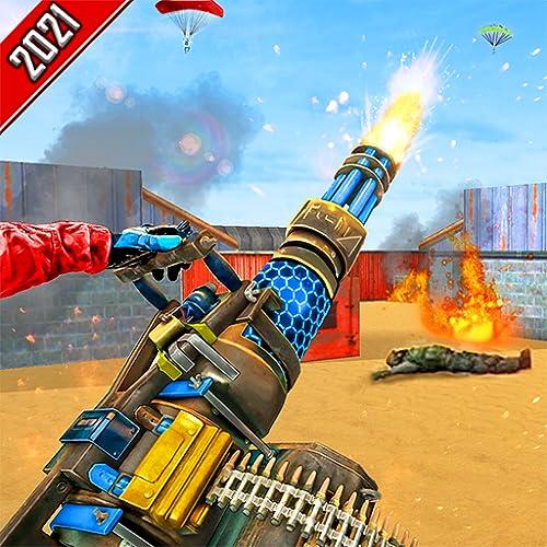 juego de ataque de campo de batalla de tiro libre- simulador de pistola de francotirador 3D