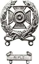 Army Marksman Qualification badges with Tab