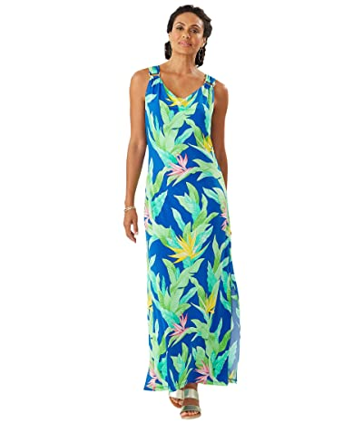 Tommy Bahama Nirvana Night Sleeveless Maxi Dress (Turkish Sea) Women