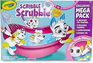 Crayola 繪兒樂 玩具寵物涂鴉清潔套裝,兒童禮品,3歲,4歲,5歲,6歲