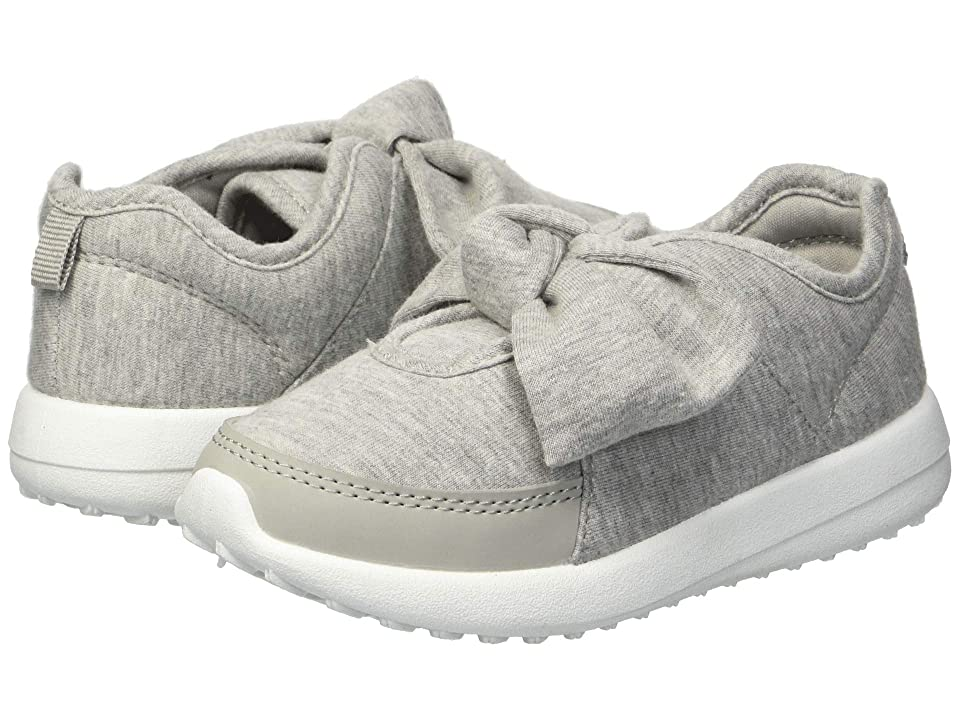 Carters Barb 2 (Toddler/Little Kid) (Grey Heather/Nubuck PU) Girl