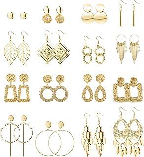 Ethnic boho new look fashion Cute butterfly earrings dangle silver jewelry Big tassel long dressy earring set for women