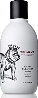 Truman's Gentlemen's Groomers Men's Daily Facial Cleanser with Peppermint & Eucalyptus Oils, Hydrating & Invigorating, 8 f...