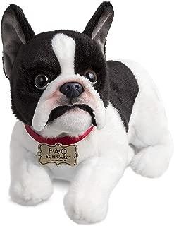 FAO Schwarz French Bulldog Puppy Dog Toy Plush 10