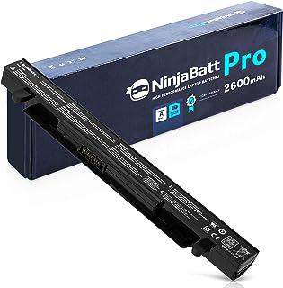 NinjaBatt Pro Batería para ASUS A41-X550A A41-X550 F550 F450 X550 R510C A550 K550 P550 X550C X550DP X450 A550L X550J R510 - Samsung Celdas [4 Celdas/2600mAh/37Wh]