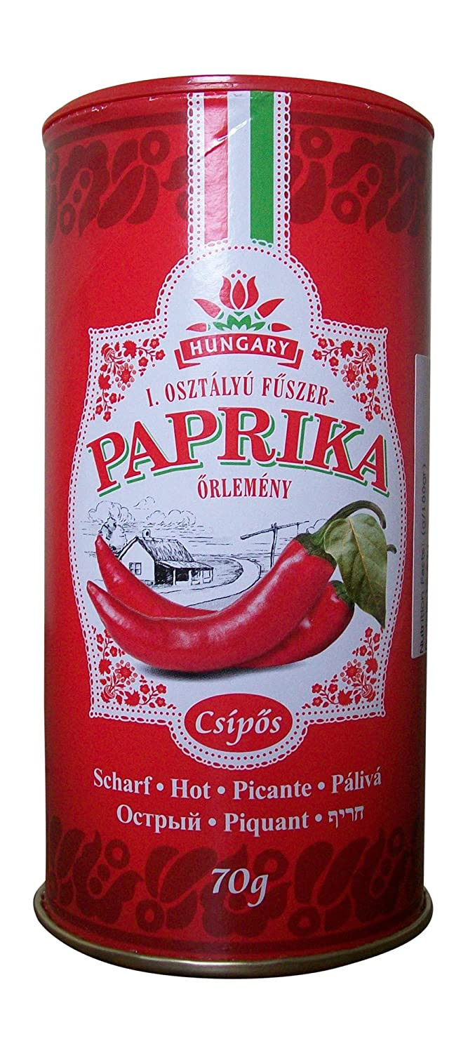 Chili-Trade Hungarian Hot Paprika 2.46oz 100% quality warranty! discount in 70gr Shaker