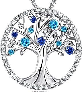 ❤️The Tree of Life❤️ March Birthstone Created Aquamarine...