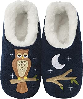 Pairables Womens Slippers - House Slippers - Up Owl Night