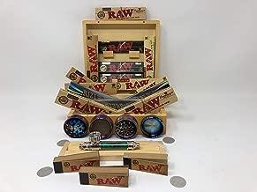 Raw set regalo stile anni 1970/mini metal Rolling Tray New Deal regalo per te o per la vostra amata con e-zwider booklet grape by TRENDZ