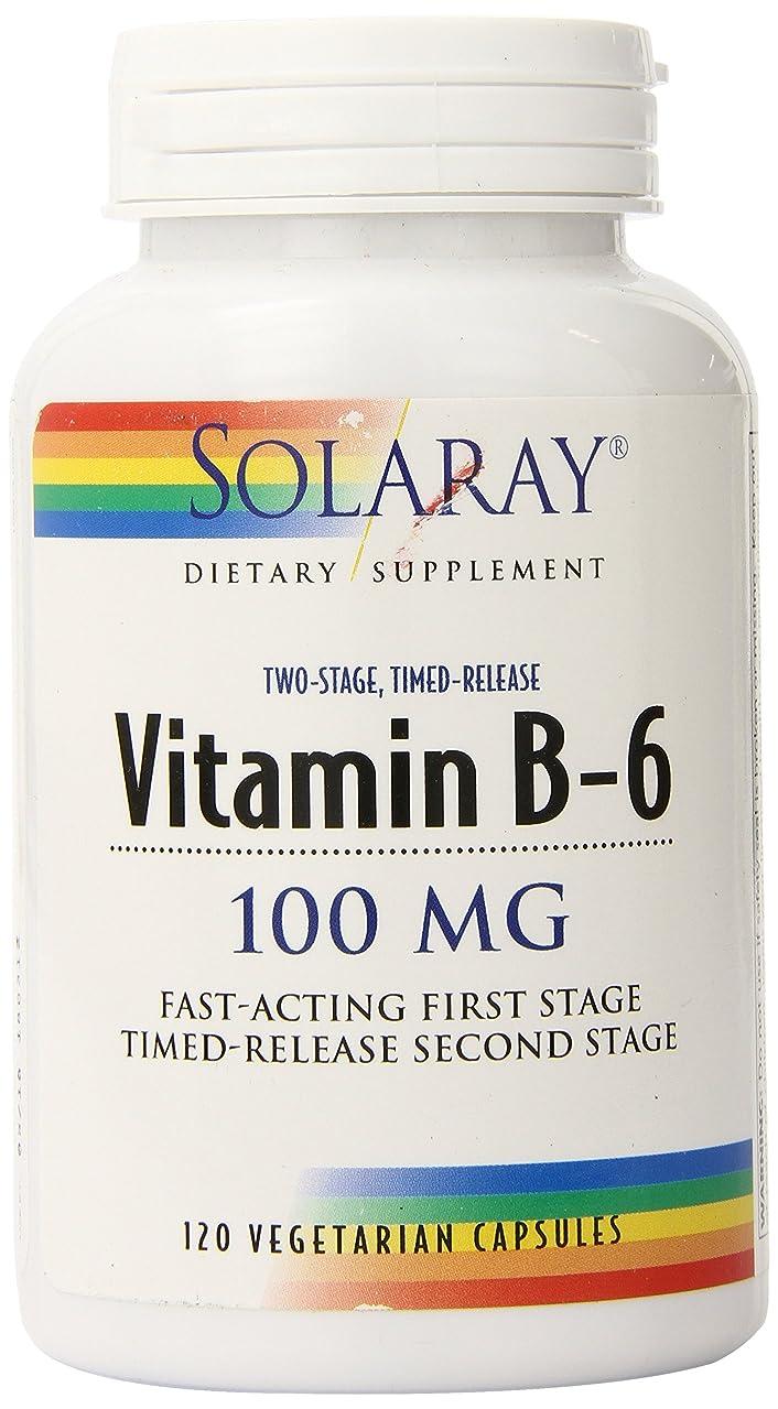 Solaray B-6 TSTR Supplement, 100mg, 120 Count