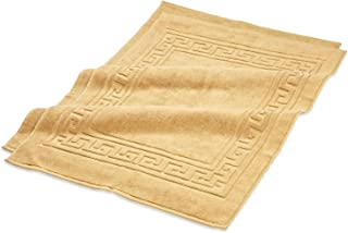 Superior Hotel & Spa Quality Bath Mat Set of 2, Made of 100% Premium Long-Staple Combed Cotton, Durable and Washable Bathr...