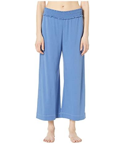 Skin Regan Crop Pants (Dutch Blue/White) Women