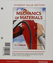 Mechanics of Materials, Student Value Edition Plus Mastering Engineering with Pearson eText -- Access Card Package (10th Edition)