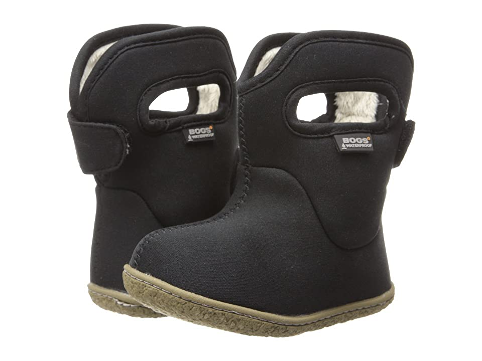 Bogs Kids Baby Classic Solid (Toddler) (Black) Kids Shoes