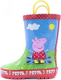 Peppa Pig Toddler Girl's Muddy Puddles Rain Boot
