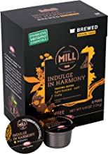 Mr and Mrs Mill Brewed Blonde Roast Verismo Compatible Indulge in Harmony Single Serve Coffee Pods 72 Count (6 boxes of 12 Pods each)