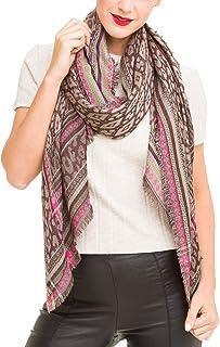 Women Scarves Pattern Design Elegant Long Cashmere Feeling Thick Shawl Wrap