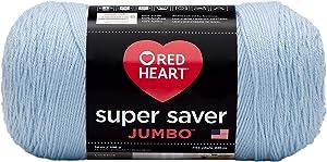 Red Heart Super Saver Jumbo Yarn, Light Blue