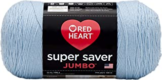 Red Heart Super Saver Jumbo Yarn, Light Blue