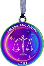 Hallmark Ornament, The Star You Are: Libra Zodiac Astrological Sign (Sept. 23-Oct. 22), Metal