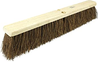 """Weiler 42023 24"""" Block Size, Palmyra Fill, Garage Brush With Wet Or Dry Sweeping, Natural"""