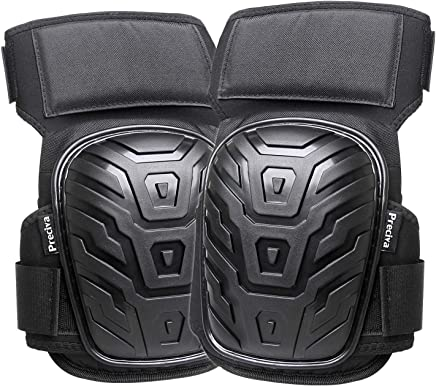 LAWNKO/® Comfortable Gel Cushion Knee Pads with Strong Double Straps and Adjustable Easy Fix Clips for Gardening Flooring Professional Knee Pads for Work Construction