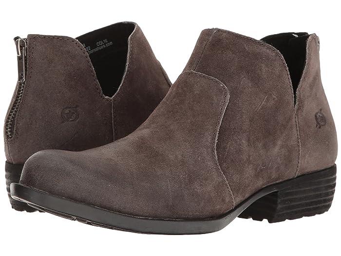 Born  Kerri (Peltro Distressed) Womens Dress Zip Boots