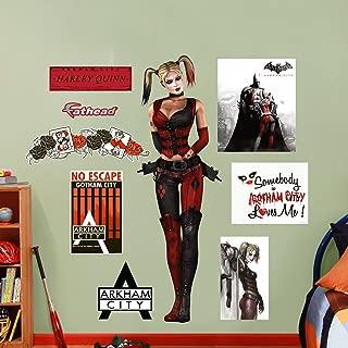 FATHEAD Harley Quinn: Arkham City Graphic Wall Décor