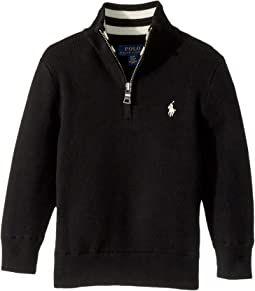 Polo Ralph Lauren Kids - Cotton 1/2 Zip Sweater (Toddler)