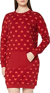 Skiny Women's Damen Sleepshirt Langarm Nightgown