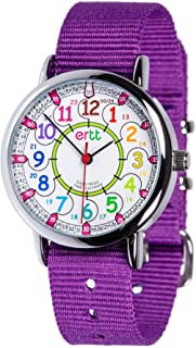 EasyRead Time Teacher ERW-COL-24 Montre d'apprentissage pour enfants