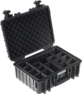 B&W outdoor.cases type 500 (leeg) - Het origineel, vakindeling, zwart, 470x365x190 (Typ 5000)