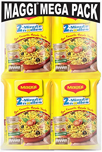 MAGGI 2 Minute Instant Noodles Masala 840g Pack of 12 x 70g Each