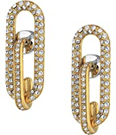 Michael Kors - Iconic Pave Link Earrings