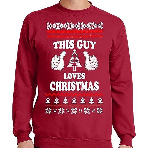 Mens 5xl Ugly Christmas Sweater Amazoncom