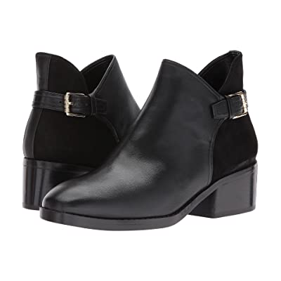 Cole Haan Althea Bootie (Black Leather/Suede) Women