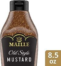 Maille Mustard Fish, Pork Tenderloin, or Lamb Old Style Squeeze Gluten Free & Kosher 8.5 Oz