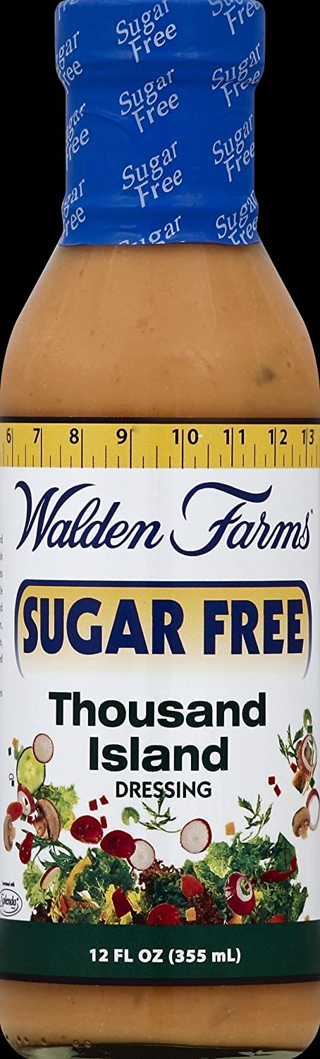 quality price assurance Walden Farms Sugar-Free Thousand Island Ounce 12 Pack Dressing