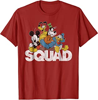 Classic Mickey Mouse Squad graphic T-shirt