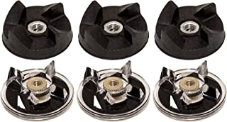 Blendin Lot of 6 Base Gear and Blade Gear Replacement Part,Fits Magic Bullet MB1001 250W Blenders