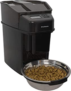 PetSafe Healthy Pet Simply Feed Pre-Portioned Automatic Food Dispenser for Cats and Dogs - Adaptor or 2 Meal Splitter Feed...